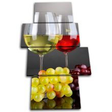 Wine Glass Grapes Food Kitchen - 13-0706(00B)-MP04-PO
